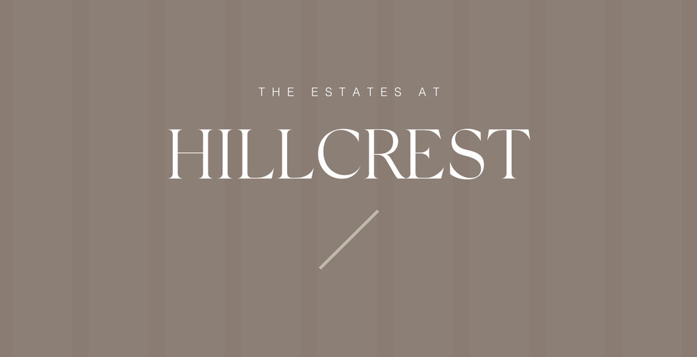 THE ESTATES AT HILLCREST   VIEW PROJECT