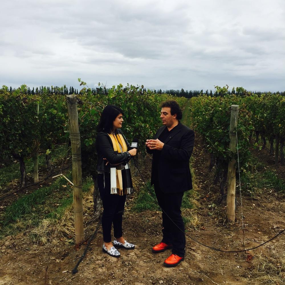 Entrevista a Alejandro Vigil