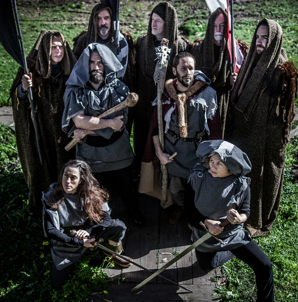 BEOWULF Cast - Photo Lauren Matley