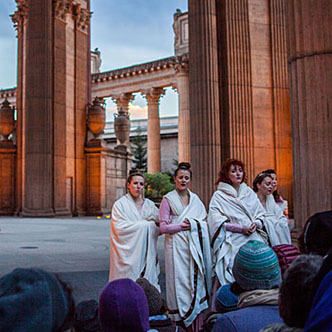 Roman Women  at The Palace of Fine Arts