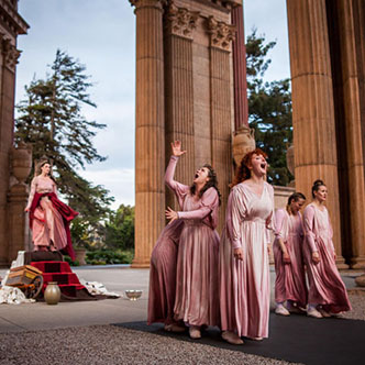 Roman Women  at The Palace of Fine Arts