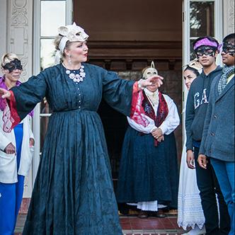 Romeo & Juliet  at Villa Montalvo, 2016