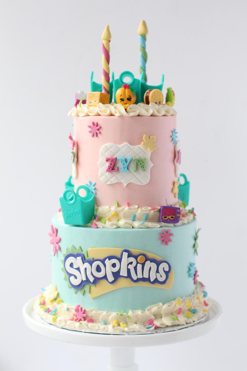 Girls Birthday Cakes Starbird Bakehouse
