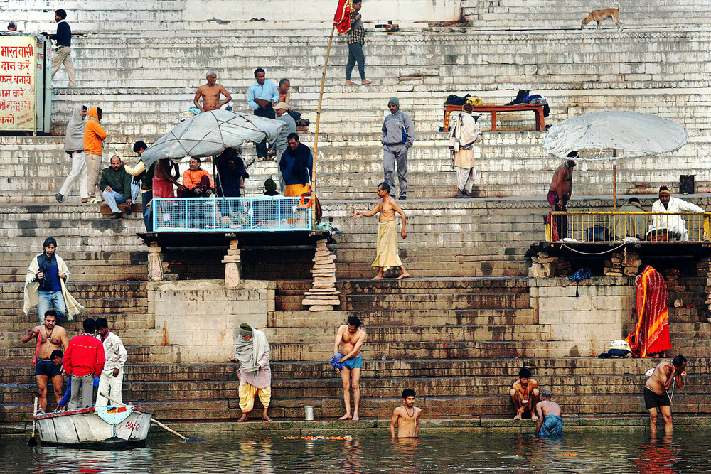 Varenasi, The Ganges, 2005