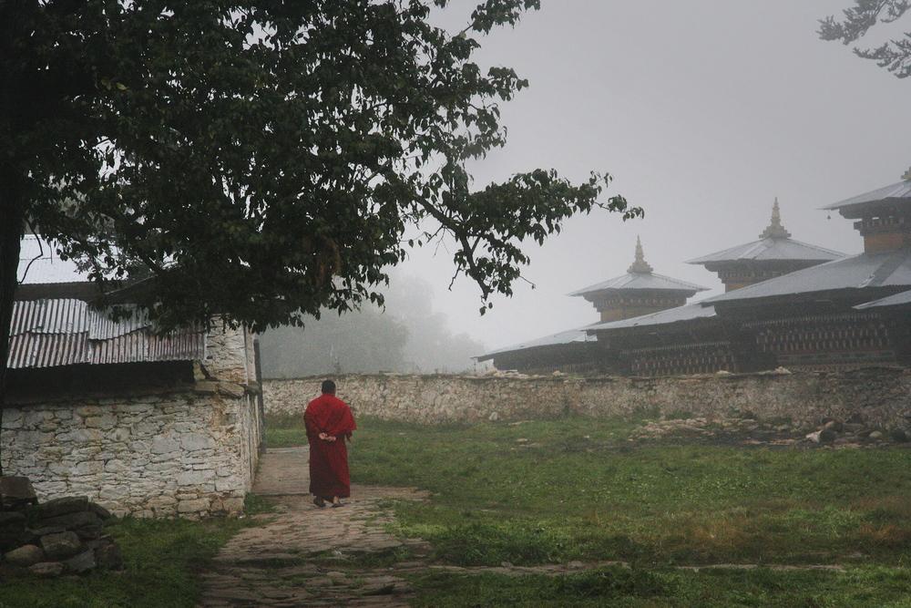 Monk, Bhutan, 2008