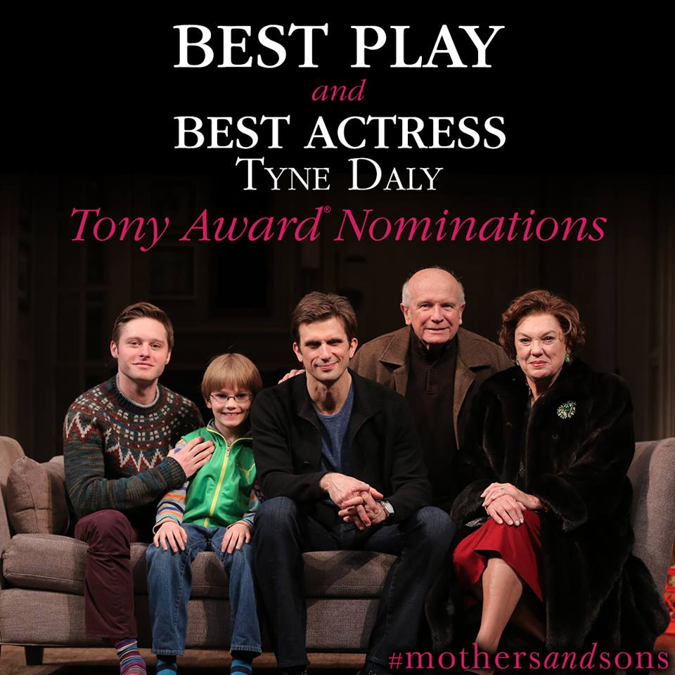The play deals with the ultimate Moving Beyond Your Whoops and into Your Life---Experience the brilliant performance of TYNE DALY and the cast!