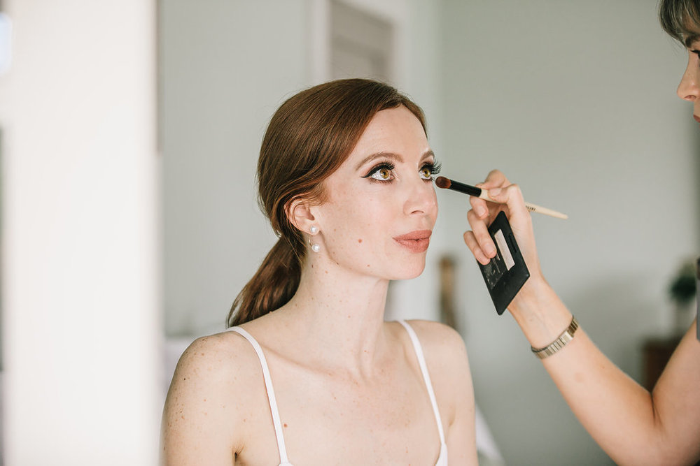 Hi! I'm Sarah. I'm a makeup artist based in Auckland, New Zealand. My focus is beautiful skin, fresh and modern makeup that enhances not hides. I believe that every person who sits in my chair is beautiful and I like to work with my clients to make them feel like the best version of themselves. I studied at The Makeup School, NZ in 2013. After I graduated with a Diploma in Television, Film, Special Effects and Fashion, I went on to work on Weddings, Special Events, Fashion and Beauty and Magazines and Film and TV. I am also on the Bobbi Brown Freelance Team. I am now available for bookings and I would love to hear from you x