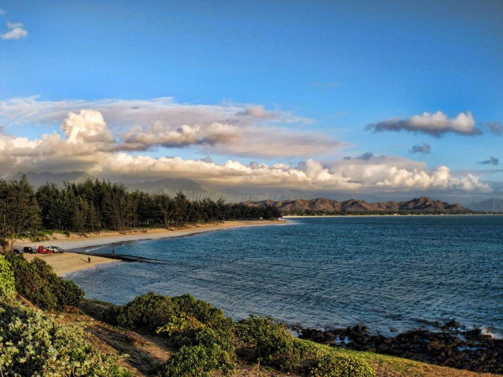 "Nearest Beach: .25 miles (less than a 10 minute walk) - Kailua Beach Park, often called ""One of the prettiest beaches in the world"""