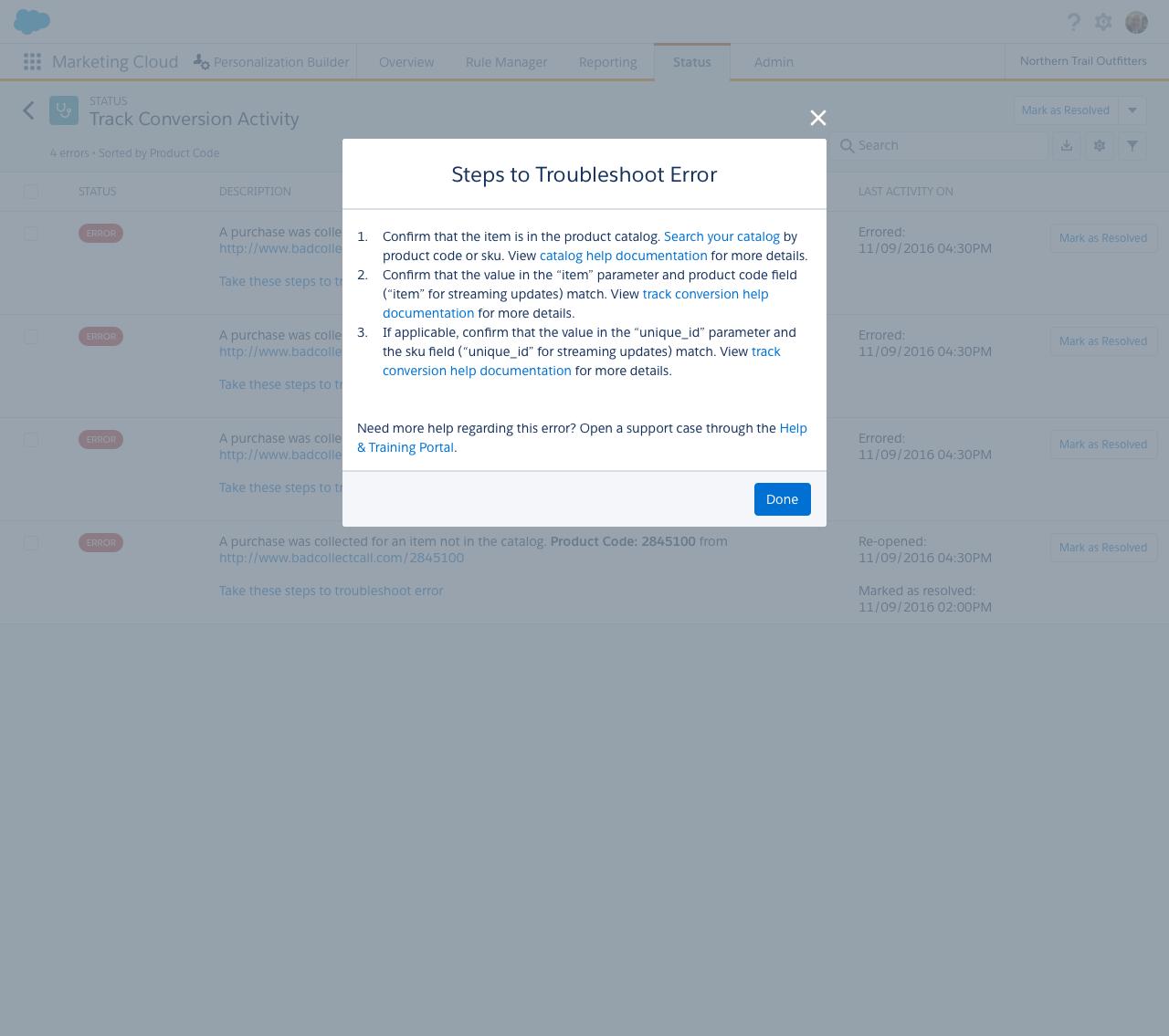 Case Study: Salesforce Marketing Cloud - Personalization Builder
