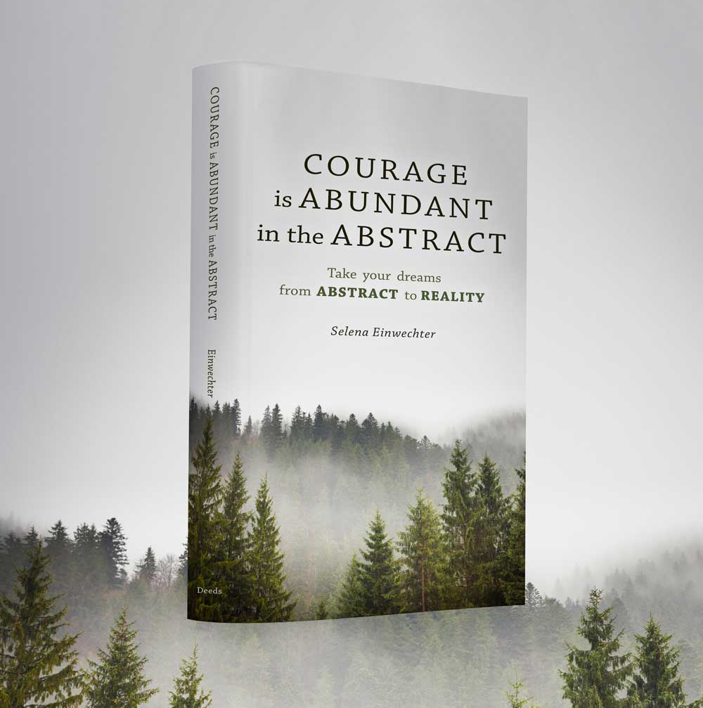 Courage is abundant in the abstract is now avaILABLE FROM DEEDS PUBLISHING!