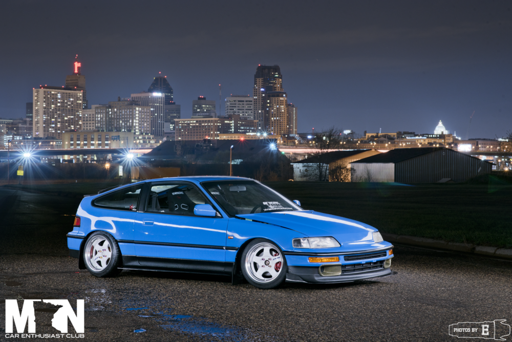 Kel on 1991 Honda Crx Dx