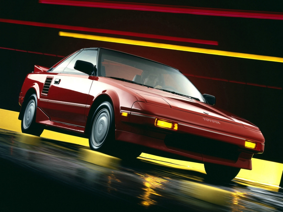 AW11 MR2 Promotional