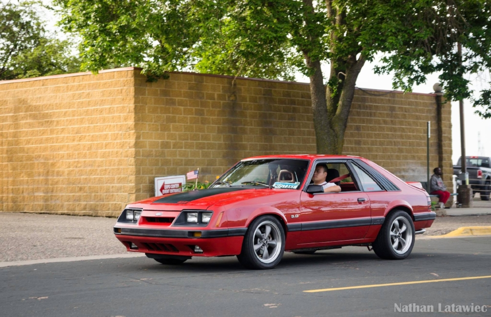 Four eyes Fox Body Mustang