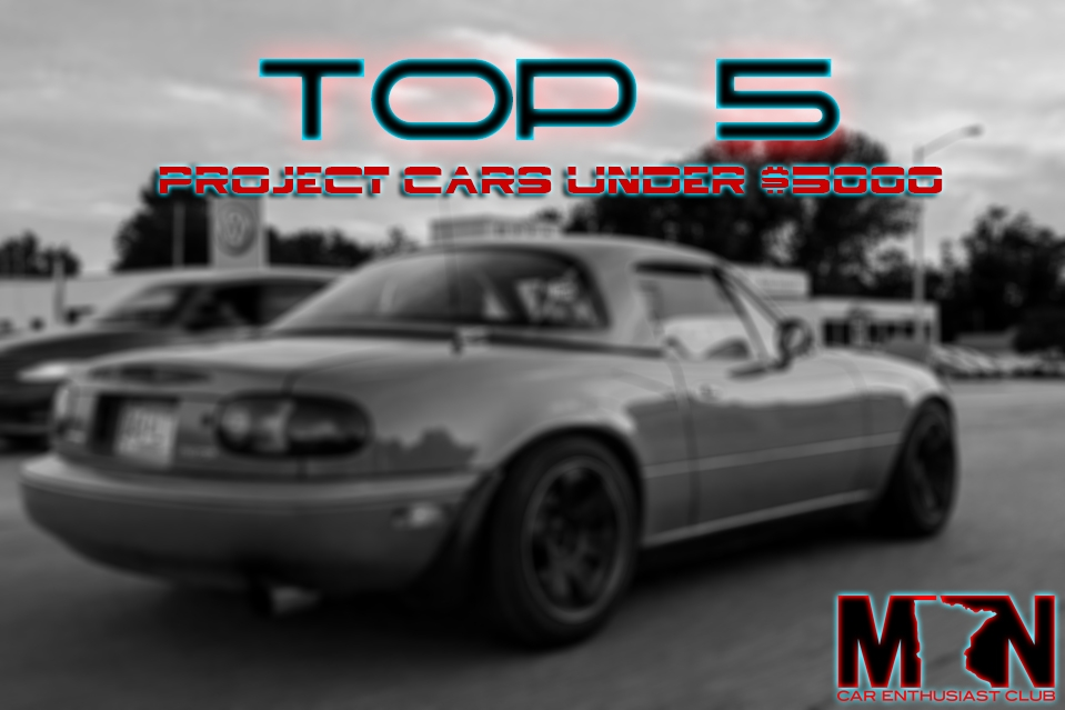 Top 5 Project Cars