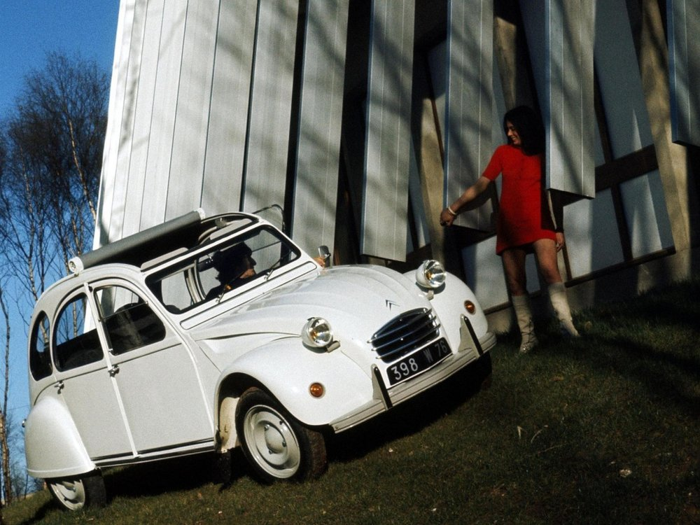 2cv with a lady.jpeg