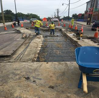 "Copy of Pavement restoration - 8th & Monroe – Prep for 10"" PCC"