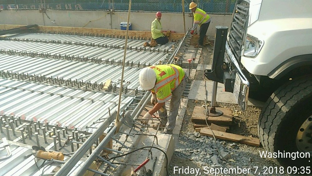 Expansion Joint Dam Installation (North Side)