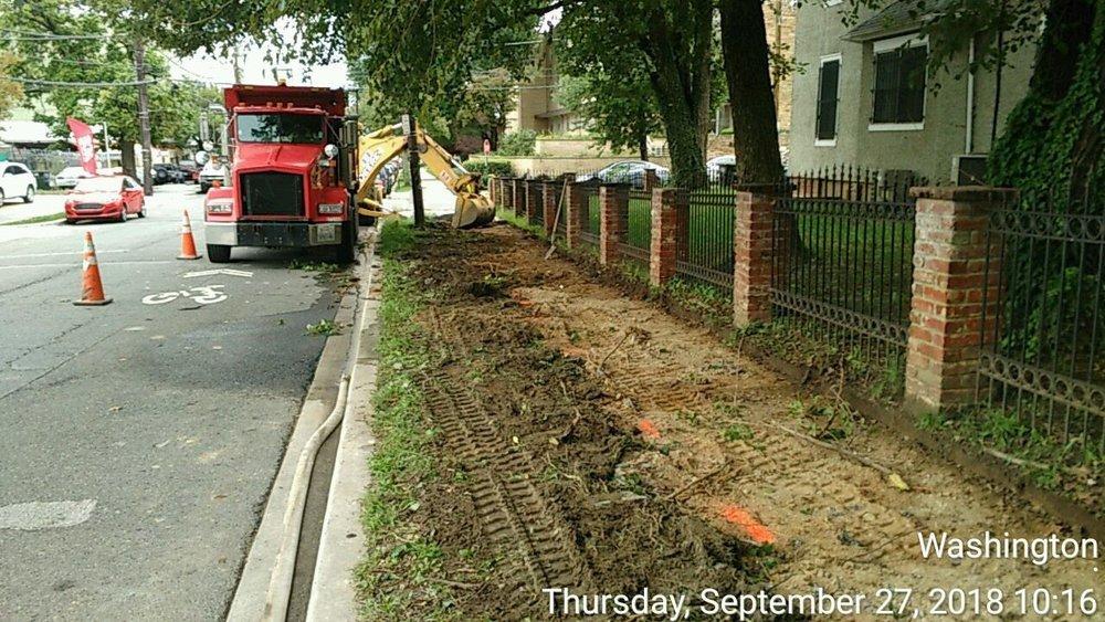 8th Street Sidewalk Demolition