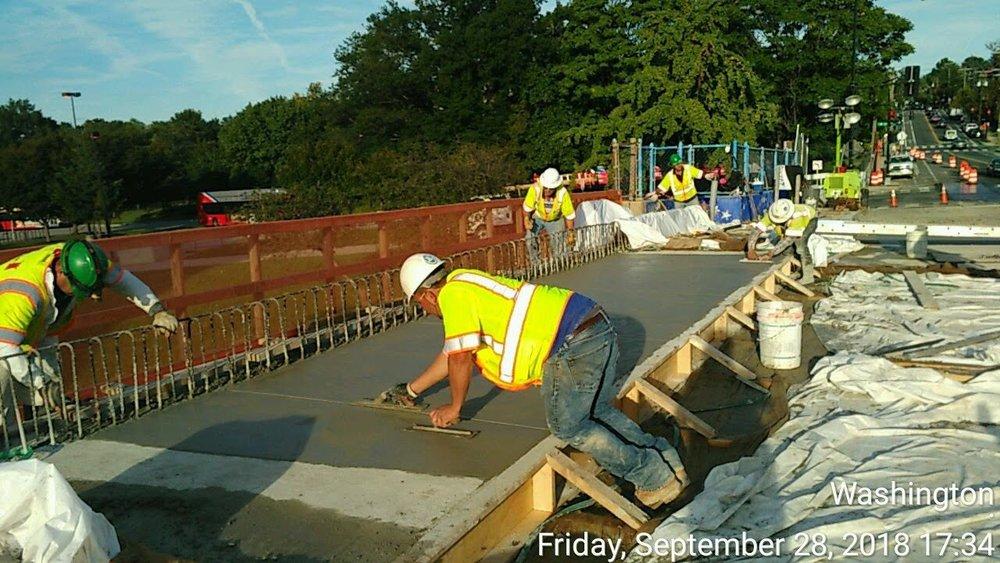 Deck Concrete Pour #3 (North)