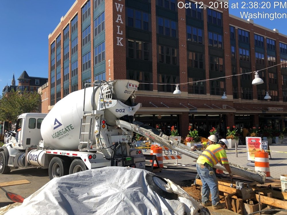 Traffic Signal Pole Foundation Installation (North Side of 8th Street)
