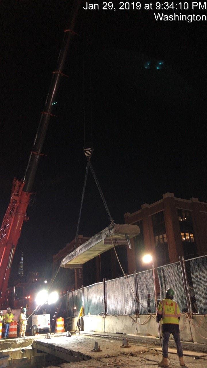 Bridge Demolition (Phase 2-South Side, Spans 1 & 3)