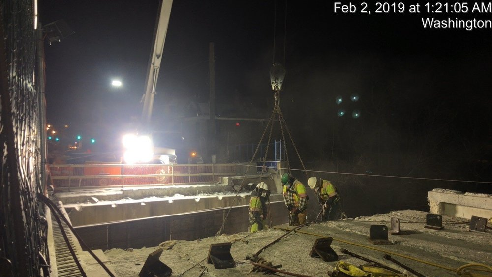 Demolition Prep Work (South Side, Span 2)