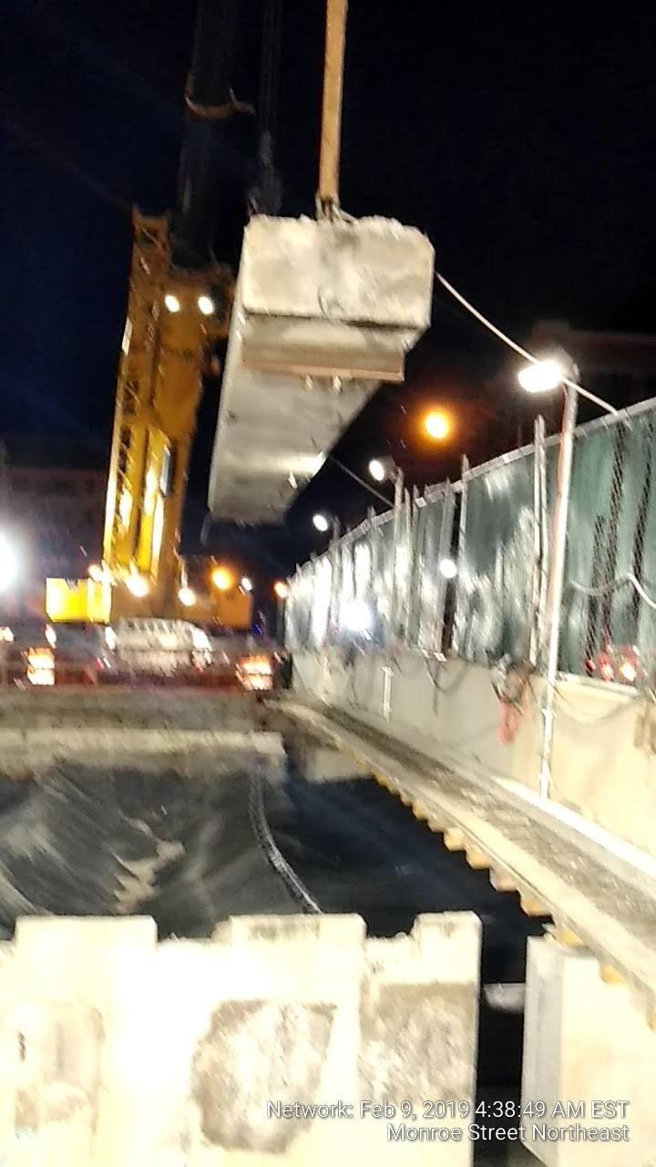 Bridge Demolition (South Side, Span 2)
