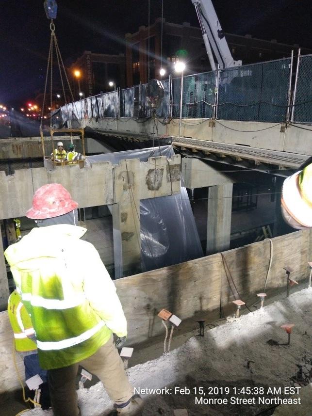 Pier 2 Demolition Work (Phase 2, South Side)