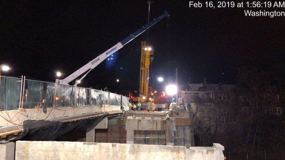 Pier 2 Cap Demolition (South Side)