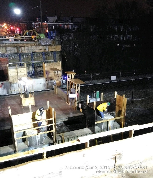 Columns Demolition Work (South Side)