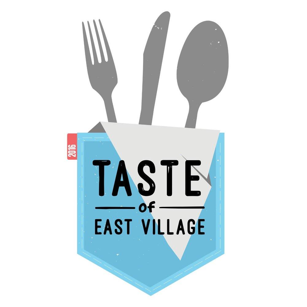 Logo Design for  Taste of East Village 2016