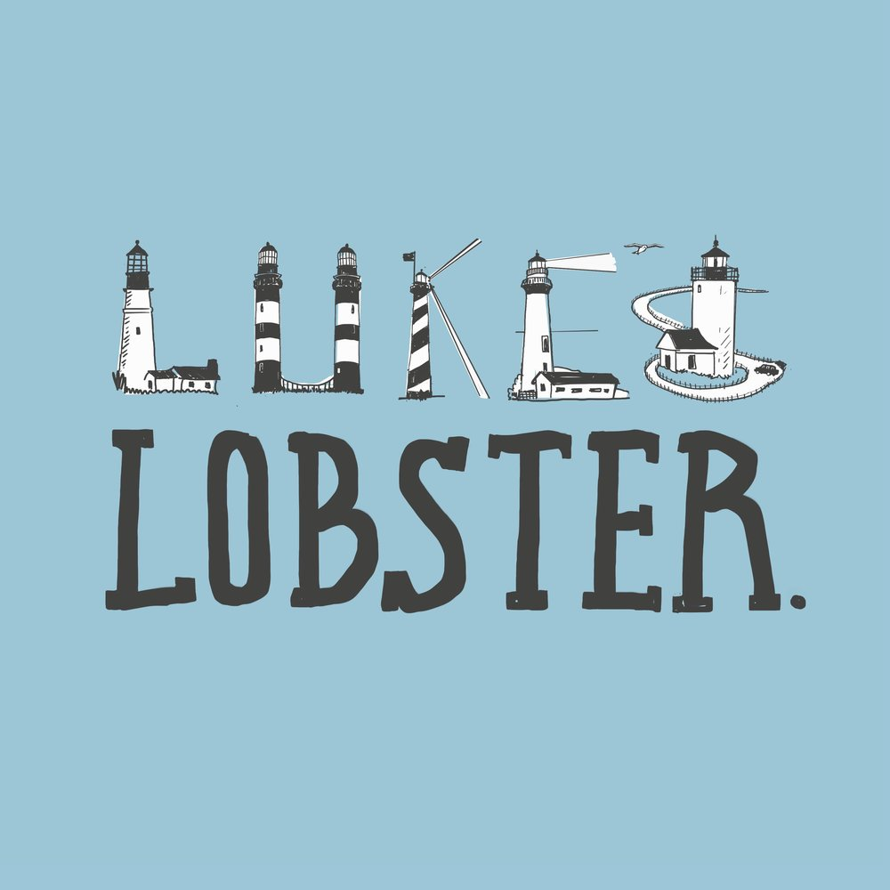 Tote bag design for  Luke's Lobster