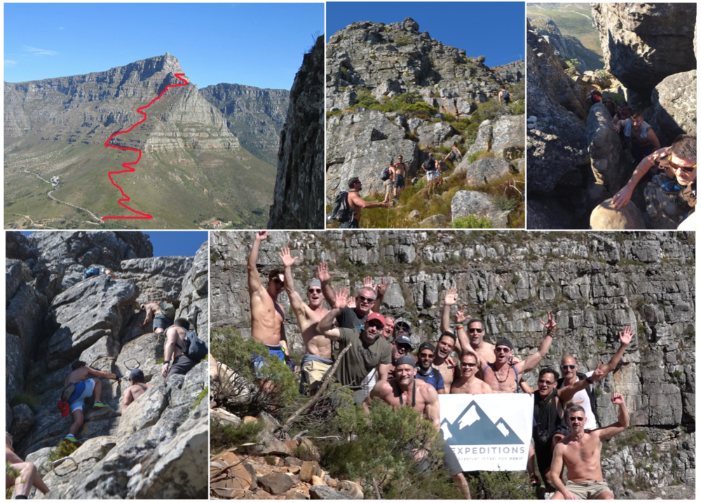 "Day 6: Table Mountain ""Off track"" Hike & Mountain Top Gourmet picnic"