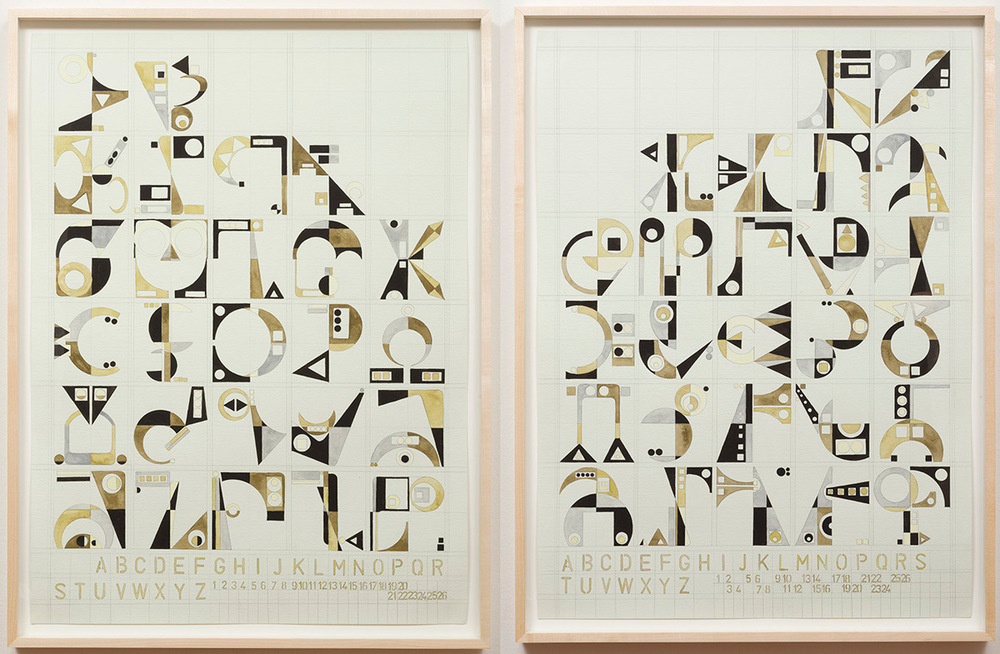 Enochian I and II, Magickal Alphabet Series, 2014