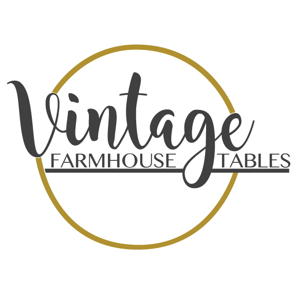 Vintage Farmhouse Tables