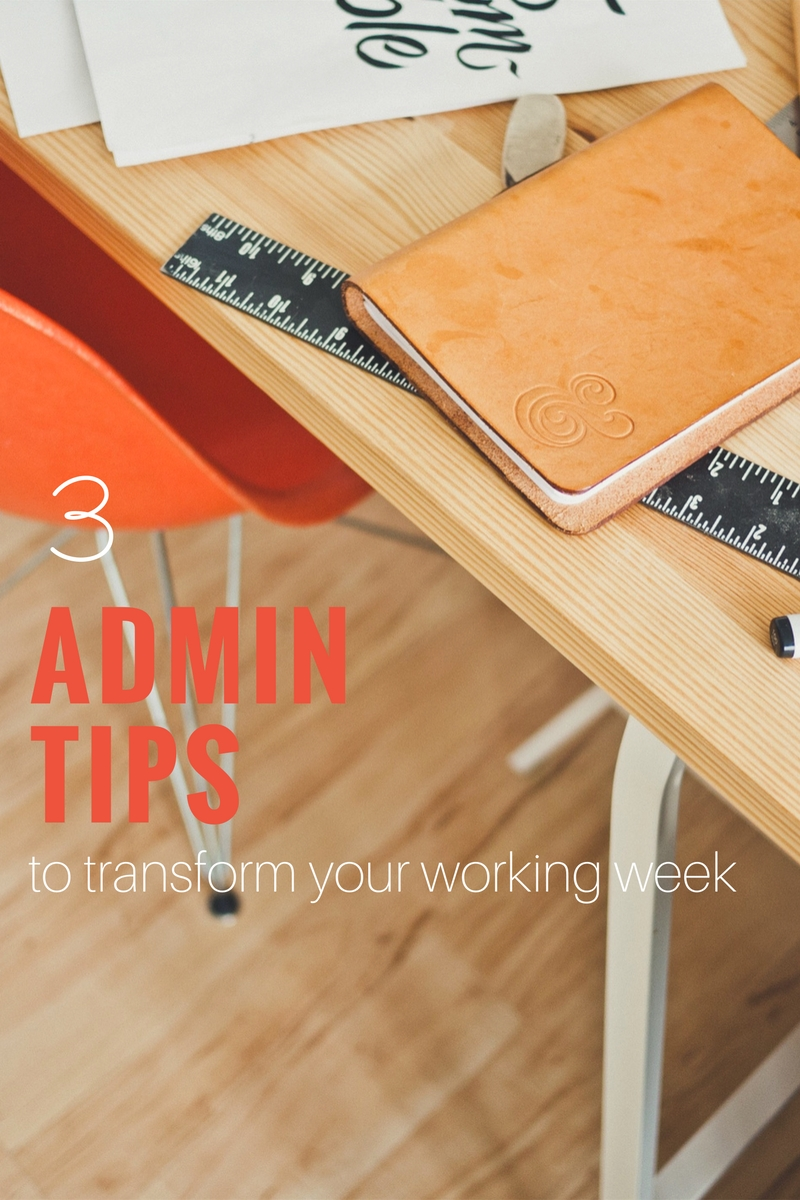admin tips, time saving, organisation, virtual assistant