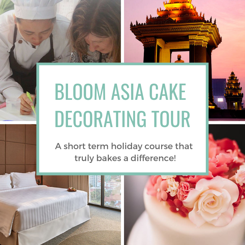 Sign up for the Bloom Asia Cake Decorating Tour for a holiday course with a difference!