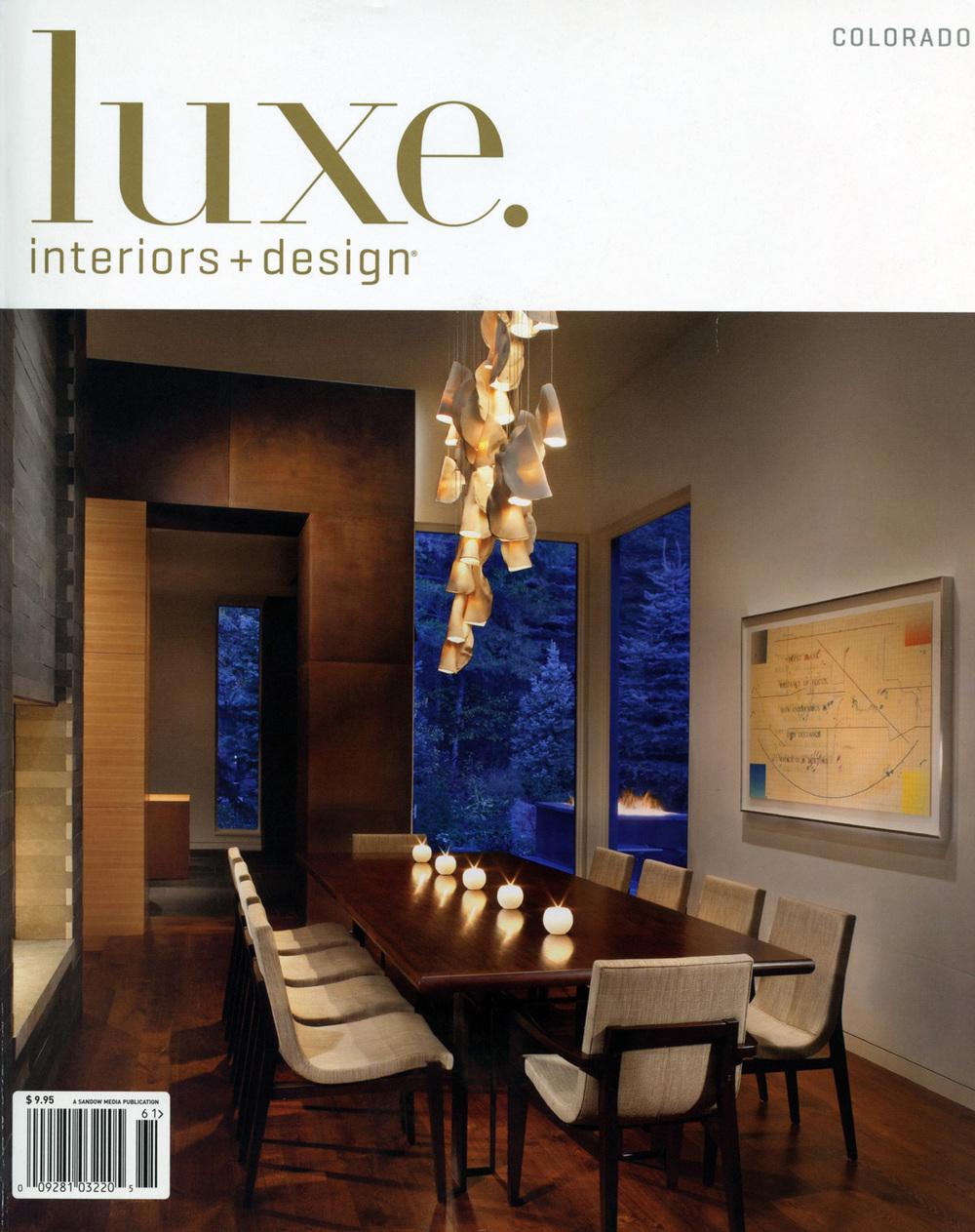 ATI   Dayton LUXE Colorado Winter 2011 Cover.