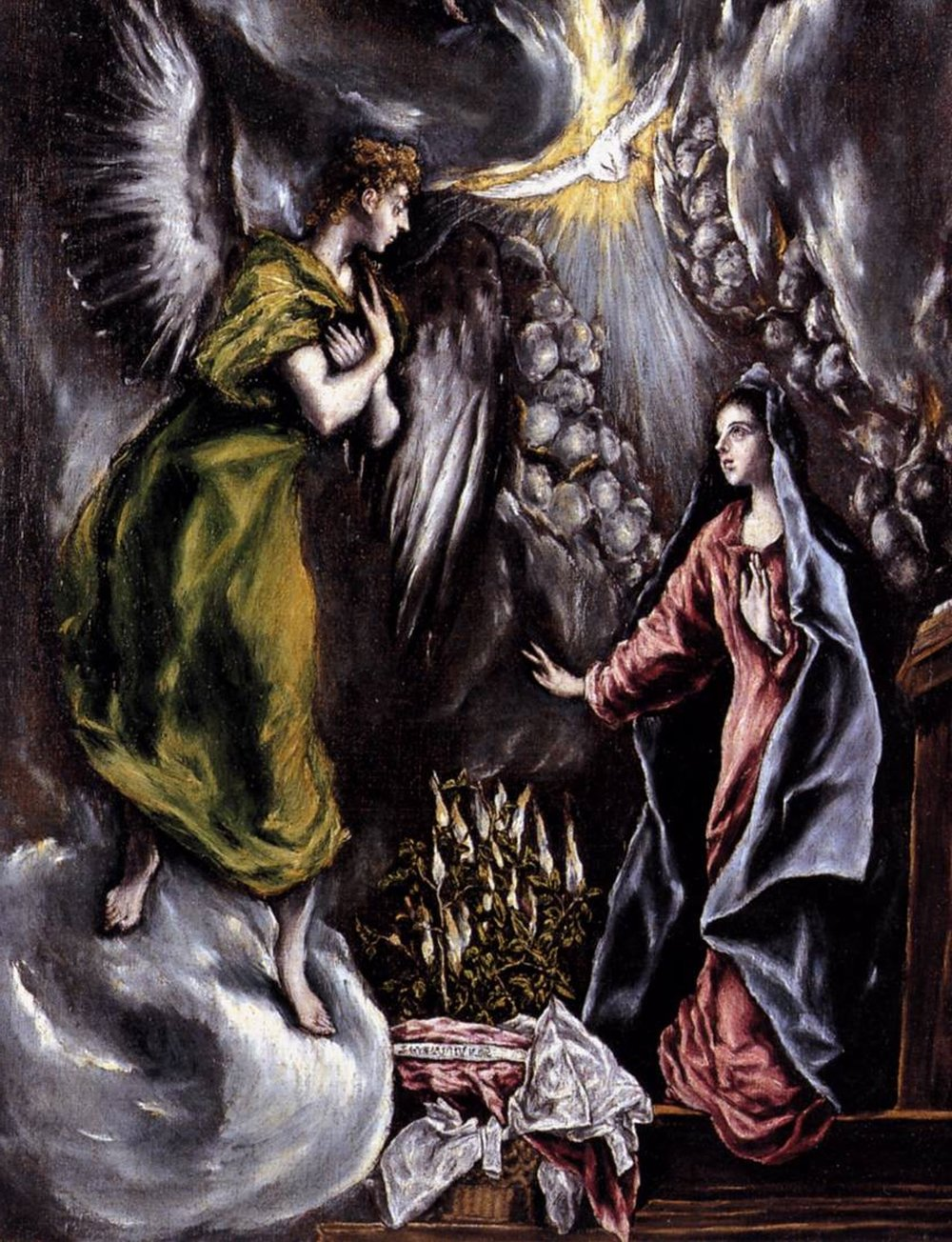 The Annunciation  El Greco