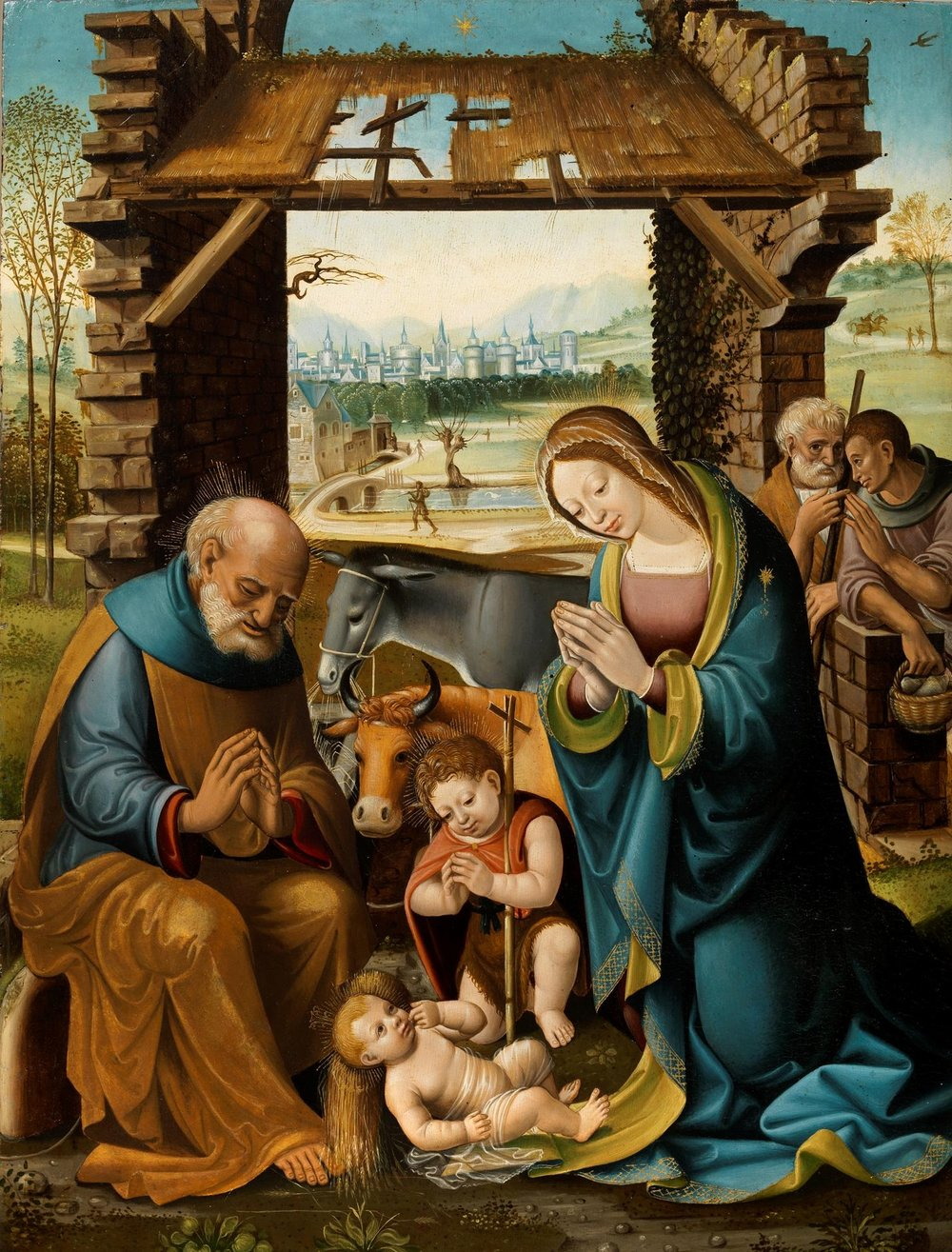 The Nativity  Gallo Fiorentino