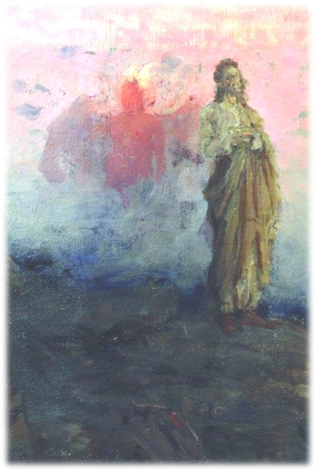 The Temptation of Christ  Ilya Repin
