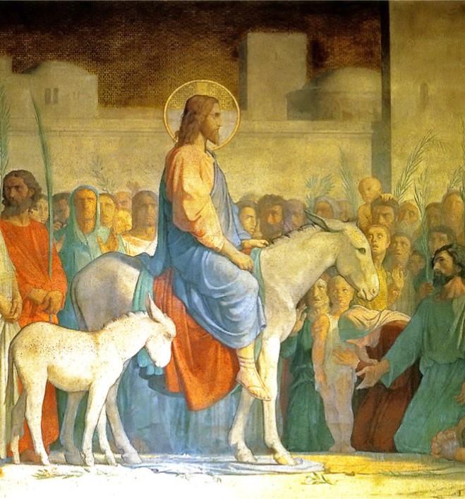 Christ's Entry into Jerusalem  Hippolyte Flandrin