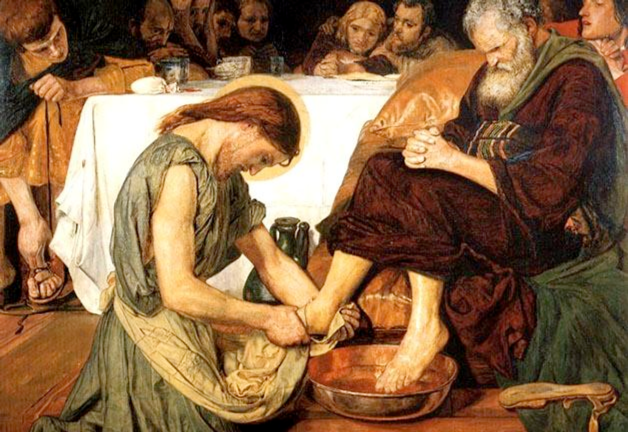 Jesus Washing Peter's Feet Ford Madox Brown