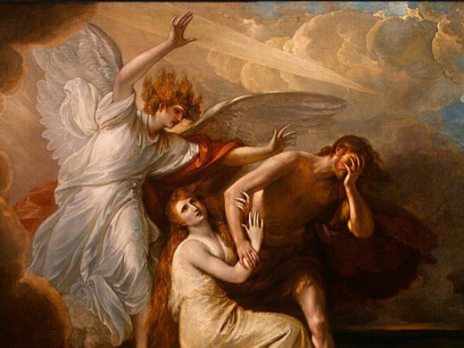 Benjamin West, The Expulsion of Adam and Eve from Paradise