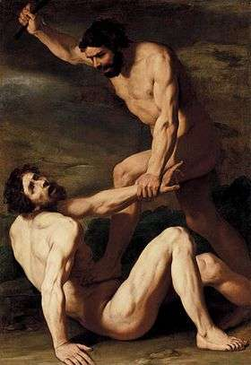 Cain Killing Abel , Daniele Crespi