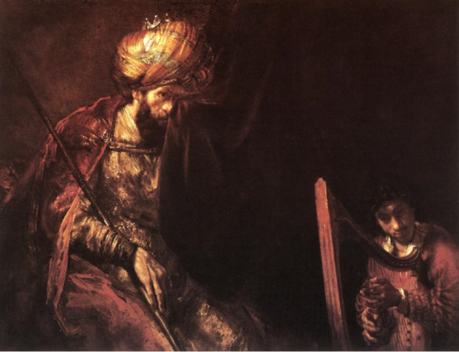 Saul and David , Rembrandt