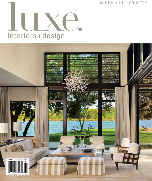 cove house on the cover of luxe furman keil architects