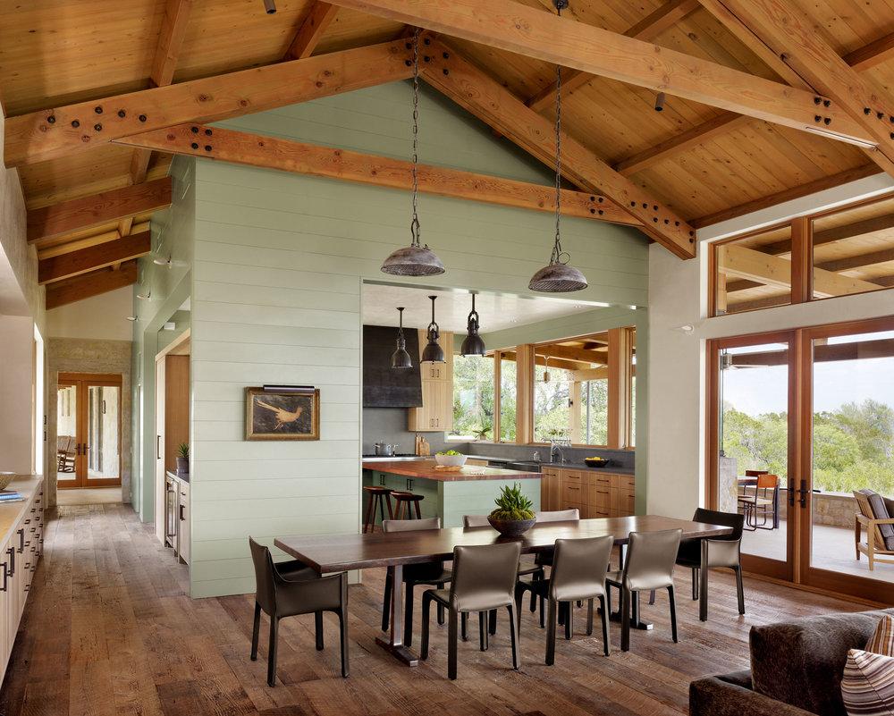 Dog run ranch furman keil architects furman keil - Interior design firms austin tx ...