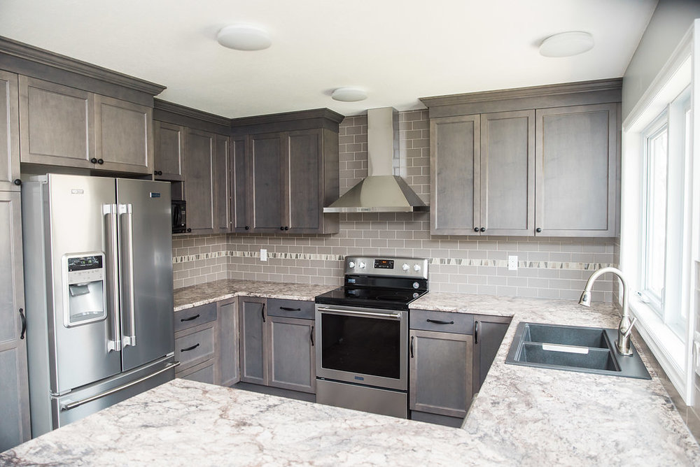 Camrose Kitchen Renovation Cabinets