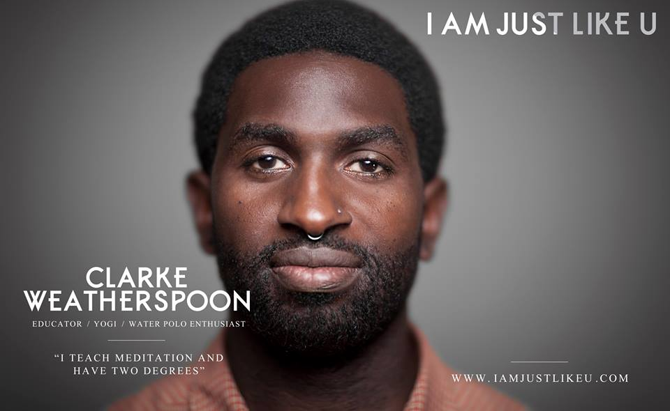Clarke Weatherspoon teaches meditation and yoga with Works of Wonder, an organization at aimed helping black communities experience greater peace and resilience through self-awareness and stress reduction. Clarke is a local history teacher and water polo coach. He resides in San Francisco.